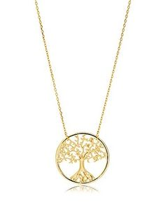 Bliss 18K Gold Tree of life Necklace