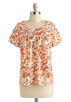 Docent She Look Darling? Top, #ModCloth