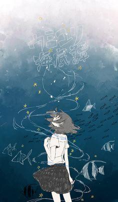 art, manga, anime, girl
