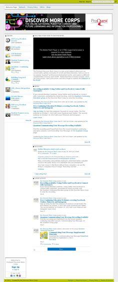 Messages, Website, Text Posts, Text Conversations