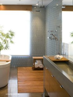 Awesome shower space.
