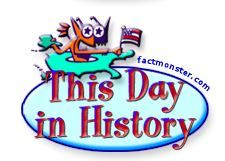 TODAY IN HISTORY~ Fun social studies activity, and a great way to start each day!