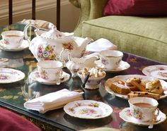Afternoon Tea at The Lords of the Manor, Upper Slaughter, Cotswolds 5 O Clock Tea, Tea Cup Set, Tea Sets, Alice Tea Party, Fine Hotels, Tea Accessories, Cake Plates, High Tea, Afternoon Tea