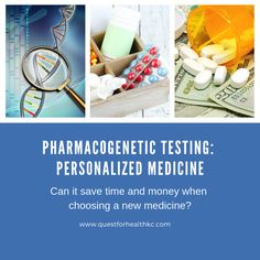 Can pharmacogenetic testing save time and money when choosing a new medicine? Personalized medicine is exciting, but is it ready for prime time? Personalized Medicine, Health Resources, Prime Time, Social Media Site, Adhd, Behavior, Drugs, How To Find Out, Challenges