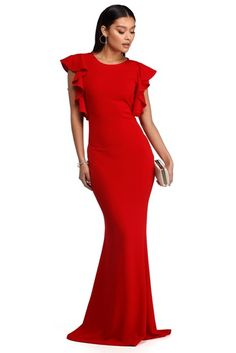 82fc8488cf0 Larissa Off The Shoulder Formal Dress