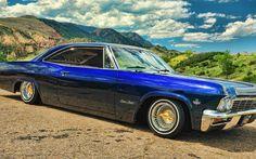 '65 Impala SS lowrider.