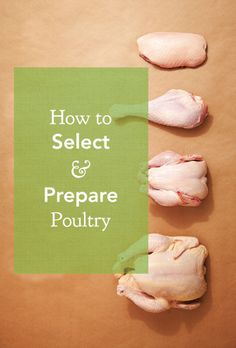 Learn to correctly select and prepare chicken, Cornish game hen, turkey, and duck.