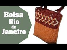 """Como fazer a Bolsa """"Rio de Janeiro"""" em Patchwork - Passo a Passo - YouTube"""
