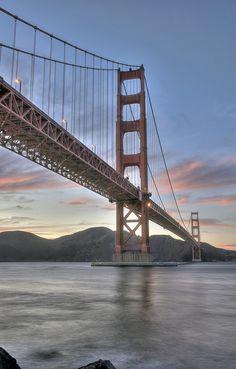 Golden Gate Bridge - San Francisco - California - USA (von DiGitALGoLD)