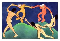 Henri Matisse: La Danse Sesamoise