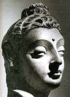 Gandhara Buddha Buddha Drawing, Buddha Painting, Buddha Zen, Gautama Buddha, Spiritual Wallpaper, Buddha Figures, Buddha Sculpture, Art Asiatique, Religious Icons
