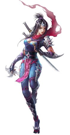 Female Ninja from Conquer Online