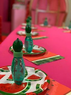 Watermelon Birthday, Table Decorations, Home Decor, Decoration Home, Room Decor, Home Interior Design, Dinner Table Decorations, Home Decoration, Interior Design