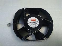 Dayton 4WT42A - AC Axial Fan, 6 x 6, 239 CFM, 115 VAC, Spade Terminals