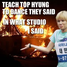 Only kpop fans can understand the hilariousness of this pic...