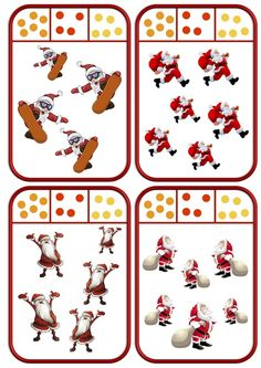 Cartes à pincer de Noël Christmas Tree Cards, Christmas Themes, Numbers Preschool, Kindergarten Math Worksheets, French Language Learning, Preschool Christmas, Theme Noel, Montessori, Teaching