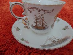 Aynsley King George V Coronation Cup Saucer Battleships Dreadnought | eBay