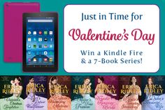 Enter for a chance to win a Kindle Fire e-reader and copies of the complete, seven book Dukes of War romance series by Erica Ridley.  Ends: 02/12/2017 Value: $200.00 Eligibility: US, CA, WW 18+ 1 Entry.  Enter: http://giveawayplay.com/2017/02/06/200-kindle-fire-giveaway-erica-ridley/