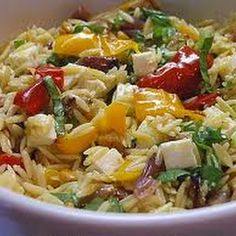 Orzo With Roasted Vegetables (Barefoot Contessa) Ina Garten
