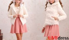 http://www.umidress.com/view/2979710/Sweet%20Floral%20Bodycon%20Hooded%20Short%20Cotton-padded%20jacket%20White%20.htm