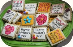 Mother's Day Decorated Cookies on Pinterest | Mother's day, Cookies ...