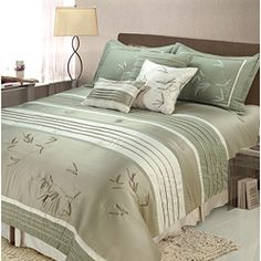 on Overstock.com Sansai 7-piece King-size Comforter Set