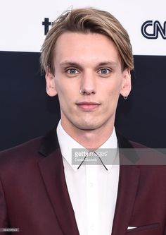 Jamie Campbell Bower attends the 2017 Turner Upfront at Madison Square Garden on May 17, 2017 in New York City.
