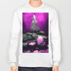 Pink Buddha Long Sleeve T-shirt