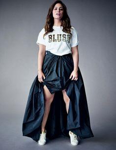 Ashley Graham by Michael Sanders for Elle Italia July 2015