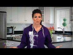 Body Builder Amanda Latona discusses good foods to each while pmsing.