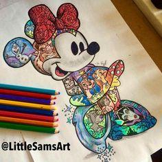 Disney painting - Disney Tattoo drawing made by . Disney painting Source by faddeinatalia. Disney Paintings, Disney Artwork, Disney Drawings, Cartoon Drawings, Cute Drawings, Disney Doodles, Disney Mignon, Cartoon Crazy, Pinturas Disney