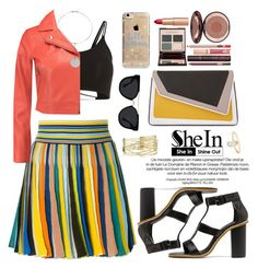 """""""Shein"""" by oshint ❤ liked on Polyvore featuring Missoni, T By Alexander Wang, âme moi, Charlotte Tilbury, Quay, Agent 18, awesome, beautiful, fabulous and Sheinside"""
