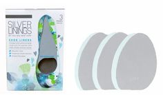 Silver Linings odor absorbing shoe liners~ perfect for summer shoes