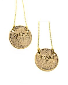 The Single Necklace by JewelMint.com, $62.00