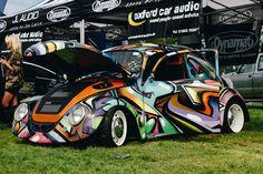 Graffiti VW Beetle
