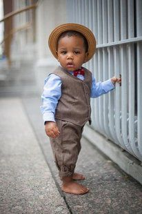 this stylish little man