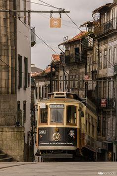 Le tramway de Porto, Portugal