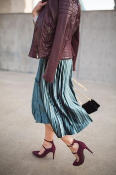 6af758981 Fall fashion with Marks & Spencer (and 4 fabulous gal pals!) Velvet Midi  SkirtRed ...