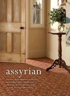 Assyrian Odyssey Victorian tile  pattern