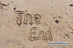 Playa, final de las vacaciones.
