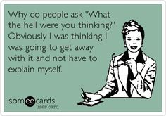 """'Why do people ask, """"What were you thinking?"""" Obviously I was thinking I was going to get away with it and not have to explain myself.'"""