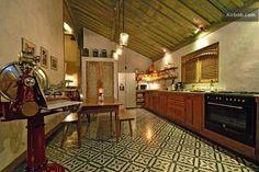 Tiles dans la cuisine