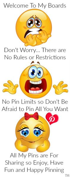 I love sharing my pins so feel free to pin as much as you like, no limits. and please continue the sharing with others ♥ Tam ♥ Smiley Emoticon, Smiley Faces, As You Like, My Love, My Pinterest, Pinterest Board, Snoopy, Dont Be Afraid, Up Girl