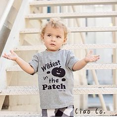 Wildest in the Patch T-shirt (short sleeve)