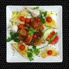 Σαλάτα με Λάδι ελιάς και Ρίγανη