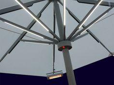 Umbrella light ELEGANCE by Michael Caravita