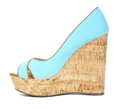 Love the color of this wedge