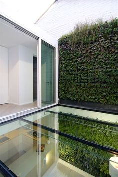 = glass floor + vertical garden | > architecture  expensivelife™