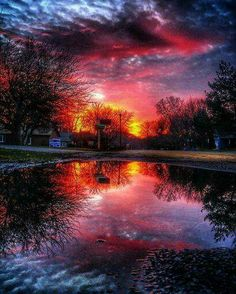 Sunset - Winthrop Harbor, Illinois | Photo by Mark Lee Filion Featured by www.kudos365.com