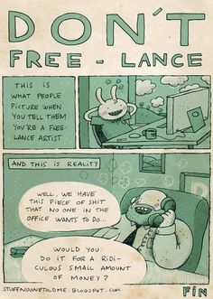 Freelancing: What People Think Vs. Reality
